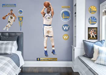 8201f3433 FATHEAD NBA Golden State Warriors Stephen Curry  Shooting - Life-Size Officially  Licensed NBA