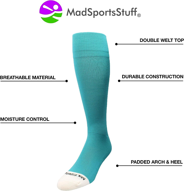 MadSportsStuff Pro Line Over The Calf Baseball Socks