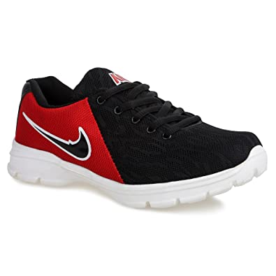 Champs Men s Running Shoes - 009 Black Red 7  Buy Online at Low ... d8088e92d