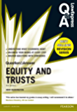 Law Express Question and Answer: Equity and Trusts(Q&A revision guide) (Law Express Questions & Answers)