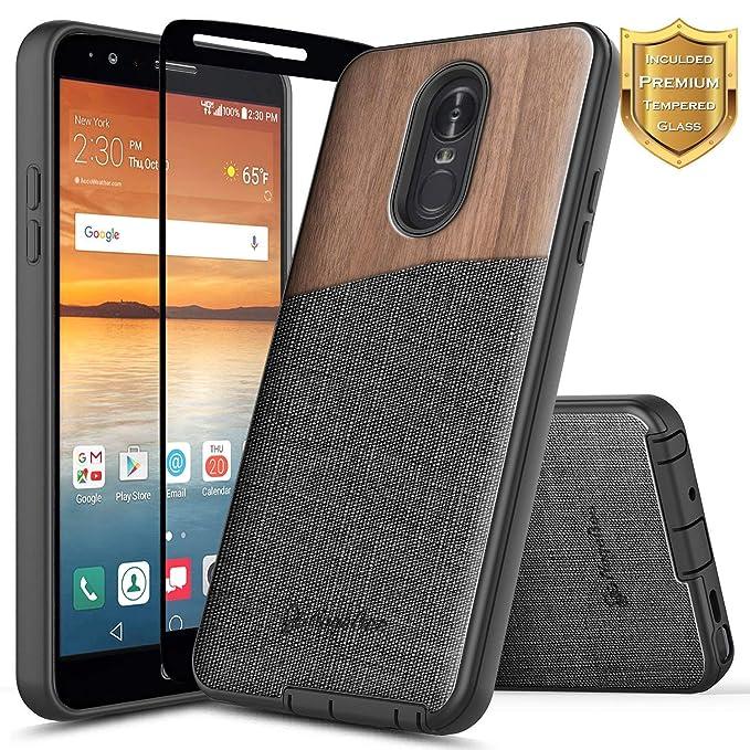NageBee - Carcasa para LG Q7 / LG Q7 Plus/LG Q7 + (con ...