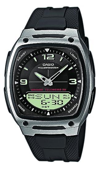 b53bb567d1c5 Reloj Casio para Hombre AW-81-1A1VES  Casio  Amazon.es  Relojes