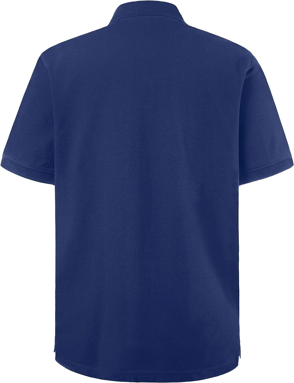 JP 1880 Mens Big /& Tall Classic Cotton Pique Polo Shirt 702560