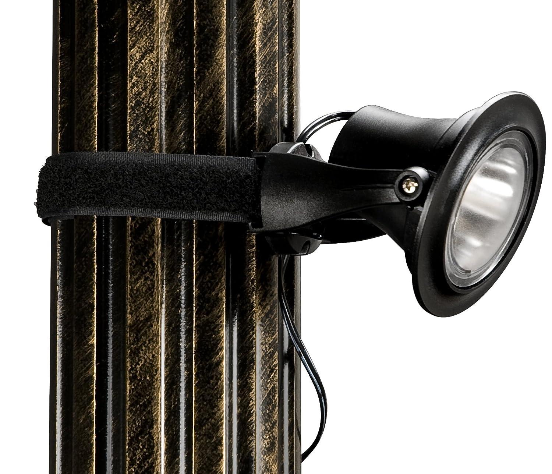 Paradise GL Plastic Solar Powered LED Gazebo Light with
