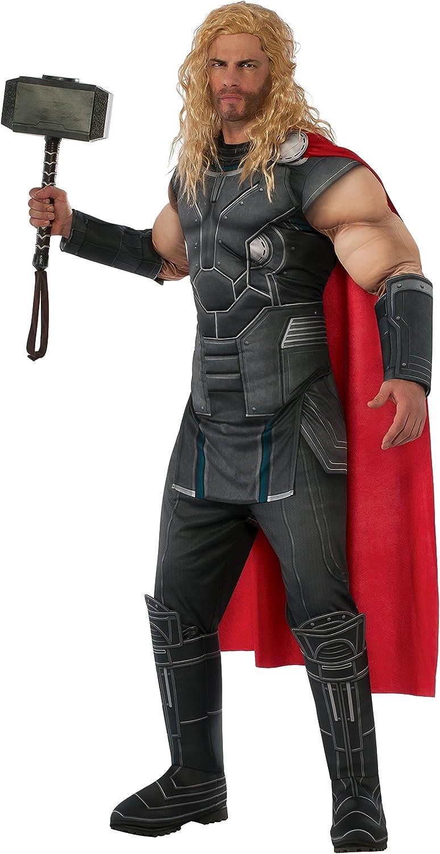Avengers - Disfraz de Thor Musculoso para hombre, Talla única ...