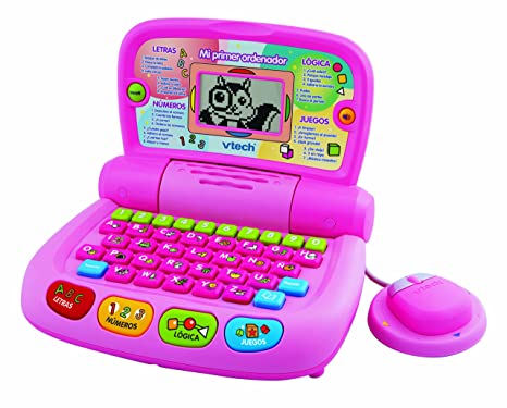 VTech - Mi Primer ordenador, color rosa (80-101157)