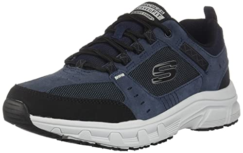 Oak Skechers Fit Sneakers Mens Relaxed Navyblack Canyon 10Amazon dtsQChrx