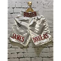 "$88 » James""Buster"" Douglas Signed Boxing Shorts Trunks Inscribed""Tyson KO 2-11-90"" (JSA COA)"