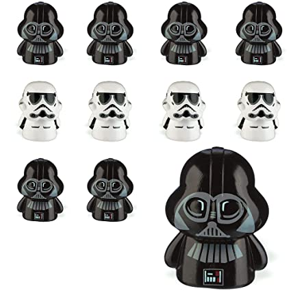 Amazon.com: Party City Star Wars - Juego de 2 mariposas de ...