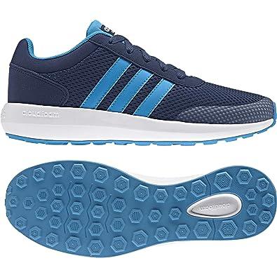 adidas Unisex Kids  Cloudfoam Race K Sneakers  Amazon.co.uk  Shoes ... 1e7fc2c44