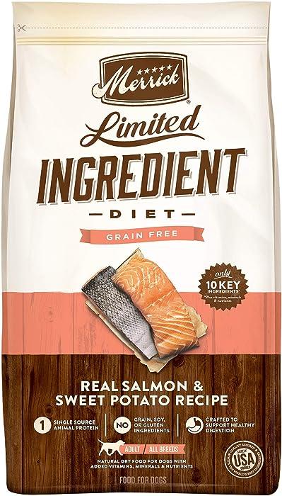 Merrick Grain Free Limited Ingredient Diet Salmon & Sweet Potato Recipe Dry Dog Food