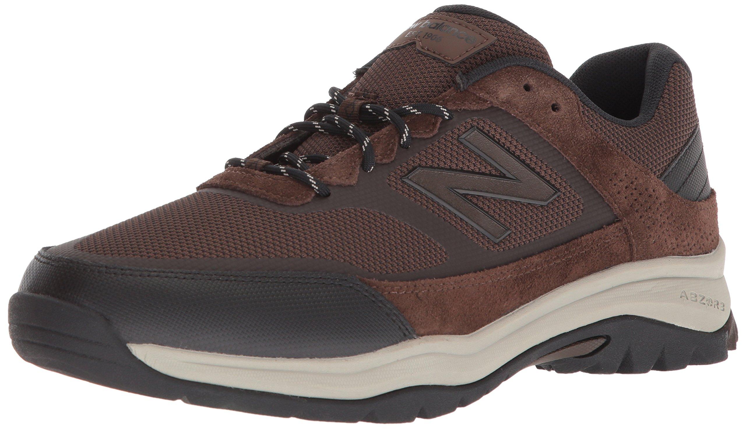 New Balance Men's MW669v1 Walking Shoe, Brown, 7.5 4E US by New Balance