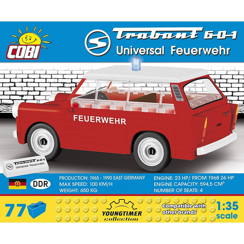 Cobi Trabant 601 Auto Youngtimer Collection Konstruktionsspielzeug 1:35 DDR