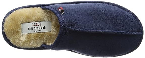 e5646de0c5e Ben Sherman Men s Mayfair Open Back Slippers