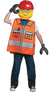 Generique - Disfraz obrero Lego® niño 7-8 años (124-136 cm ...