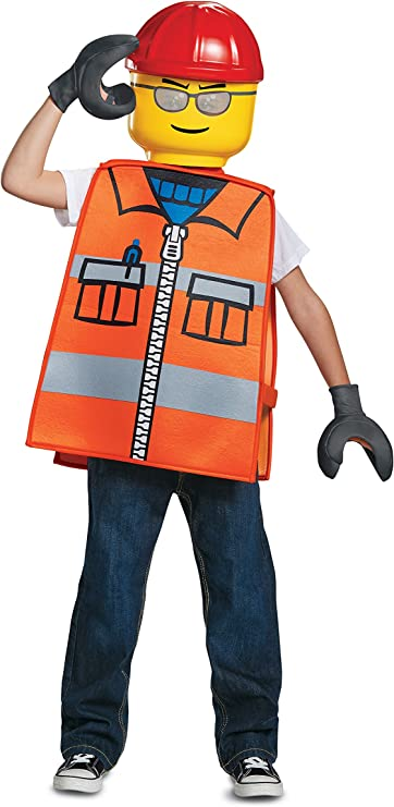 Disguise Construction Worker Basic Child Costume, One Size Child