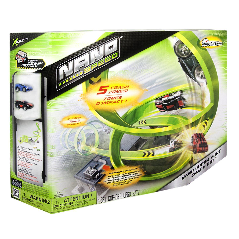 Extrêmement Nano Speed - 6018976 - Véhicule Miniature et Circuit - Stunt 1 Pk  PD59