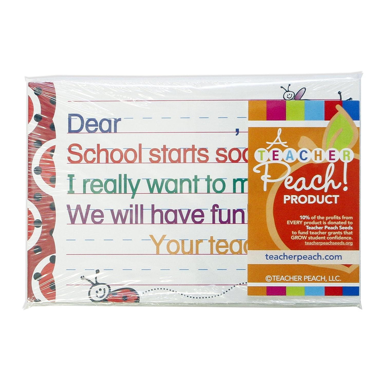 Teacher Peachwow Incredible Job Positive Postcards Motivational