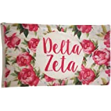 Delta Zeta Rose Pattern Letter Sorority Flag Greek Letter Use as a Banner 3 x 5 Feet dz
