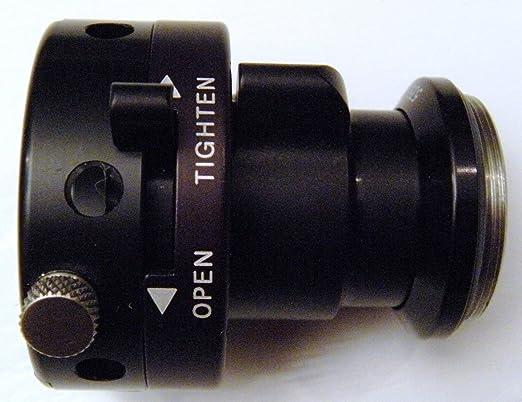 New 35mm Flat Field Coupler w//LQR C-Mount for Endoscope Borescope NIB Adjustable Focus
