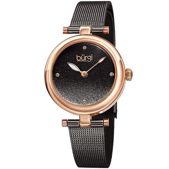 para de MujerCorrea de BurgiBUR231 Pulsera Malla Reloj CBQdeWxro