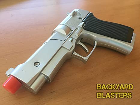 amazon com backyard blasters metal die cast toy cap gun beretta