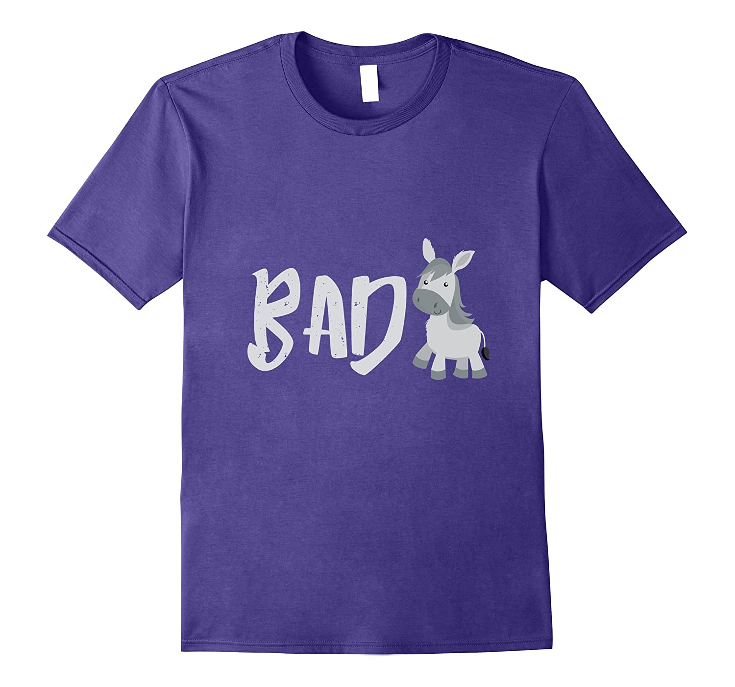 cb2aa633 Bad Donkey Humor Pun Funny Hilarious Inappropriate T Shirt-Rose – Rosetshirt
