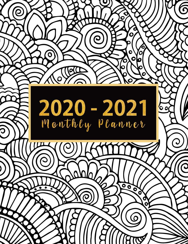 Amazon.com: 2020 2021 Monthly Planner: jan dec 2020 planner