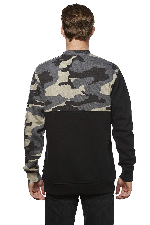 DC Apparel Mens Ken Block Founders Series Clewiston Crew Sweatshirt Sweatshirt