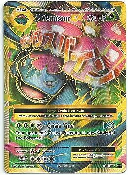 Mega M Venusaur EX 100//108 Evolutions Ultra Rare Pokemon Card NM