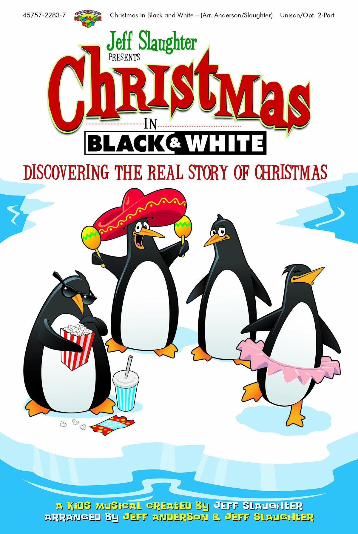 Christmas in Black and White (Split Track CD)