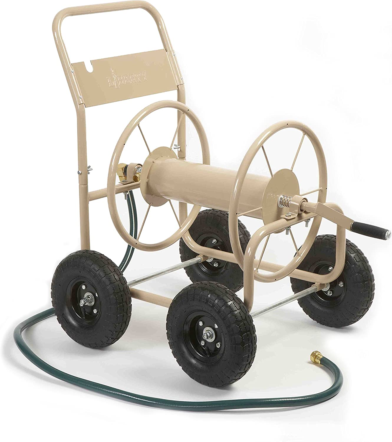 Budget Friendly hose reel cart with wheels