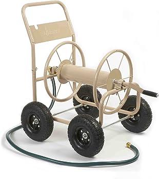 Liberty Garden 870-M1-2 Hose Reel Cart with 4 Wheels