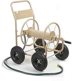 Liberty Garden Products 870 M1 2 Industrial 4 Wheel Garden Hose Reel Cart