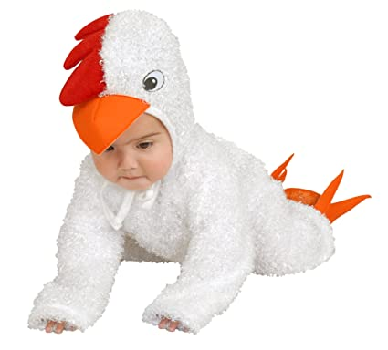 Charades Kidu0027s Baby Chick Costume Baby Costume white Infant  sc 1 st  Amazon.com : white duck costume  - Germanpascual.Com