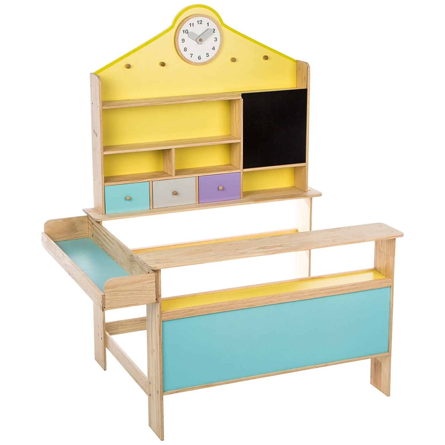 kaufladen holz mein kinderkaufladen. Black Bedroom Furniture Sets. Home Design Ideas