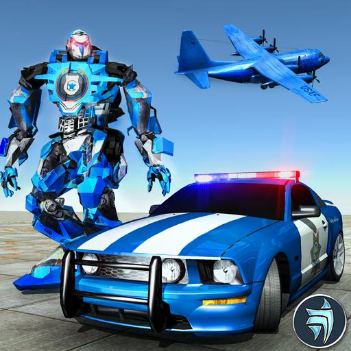 Robot Transformer Muscle Car Robot Avion Transport