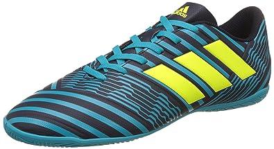 377130716f81 Adidas Men's Nemeziz 17.4 in Legink/Syello/Eneblu Football Boots - 11 UK/