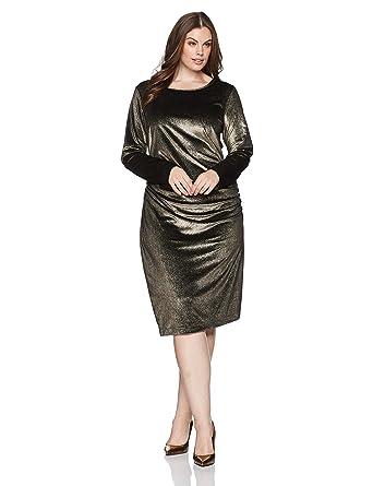 new drapes office female women sleeve spring tunic green musenda plus draped dress item size
