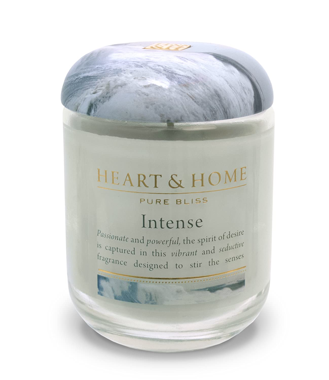 Heart & Home Large Glass Intense Candle History & Heraldry 00275000302
