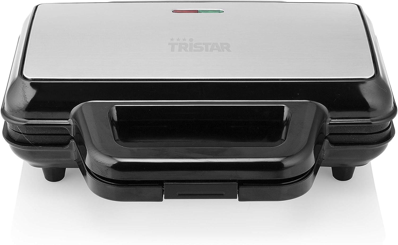 M/áquina para hacer gofres Tristar WF-1171 1000 gofres, acero inoxidable color plateado y negro