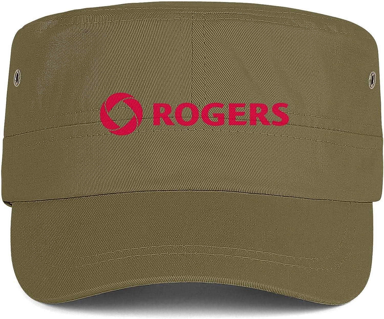 Rogers Logo Men Women Hats Snapback Military Cap Sun Hat Sports Caps