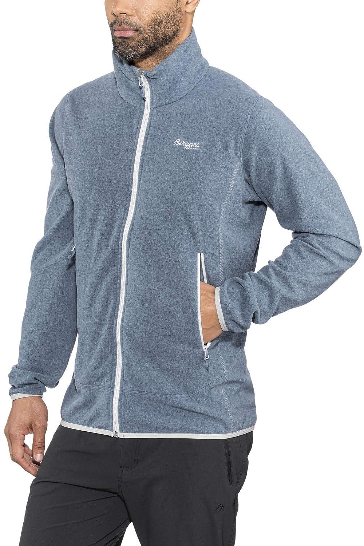 Fogbleu Aluminium XL Bergans Lovund - Veste Homme - Bleu 2019 Veste Polaire
