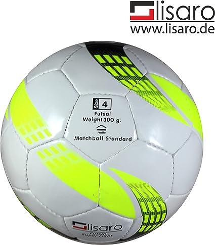 Lisaro - Pelota de futbol sala (tamaño 4): Amazon.es: Deportes y ...
