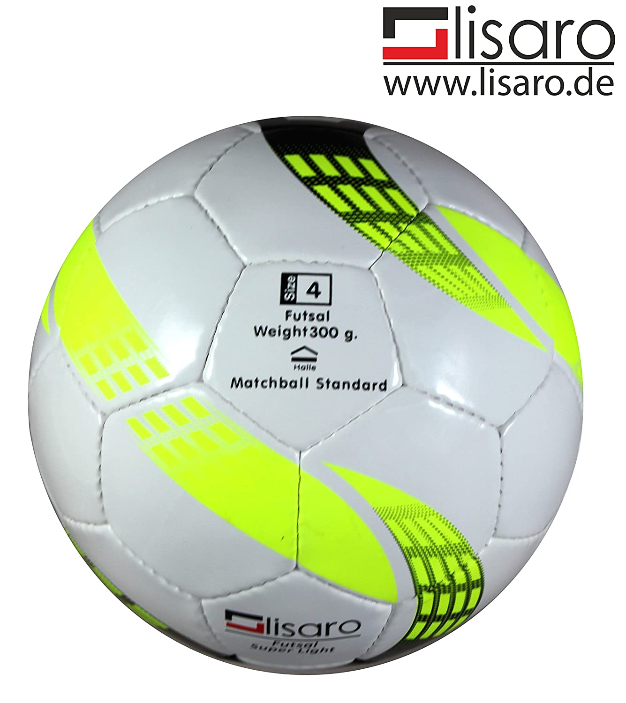 Balón de fútbol sala para jóvenes (Talla 4–300g/fútbol sala–Lisaro Pro Light Futsal-Ball für E-Jugend