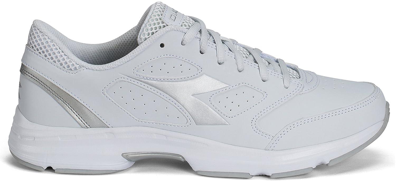 Schuhe Running Diadora Shape 7 Obermaterial suprellsoft Art.171470 46 Weiß Silber