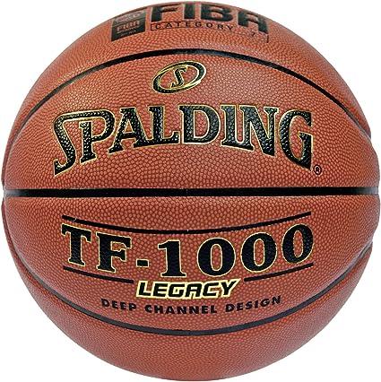 Spalding Tf1000 Legacy Fiba Sz.7 (74-450Z) Balón de Baloncesto ...