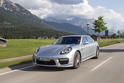 Classic y los músculos de los coches y COCHE Porsche Panamera Turbo Executive arte (2014