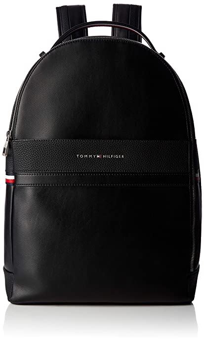 Tommy Hilfiger - Th Business Backpack, Mochilas Hombre, Negro (Black), 15x44x31