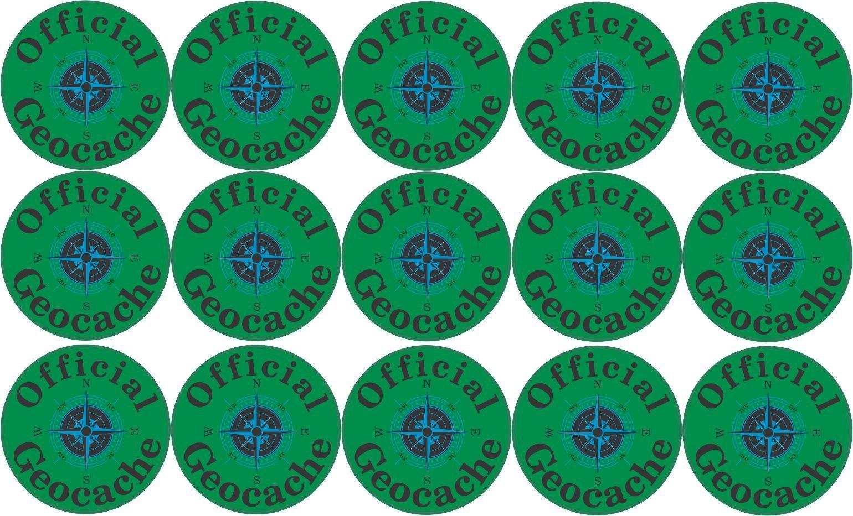 amazon com stickertalk 1in x 1in official geocache micro cache rh amazon com Geocaching Clip Art Geocaching Logo Green